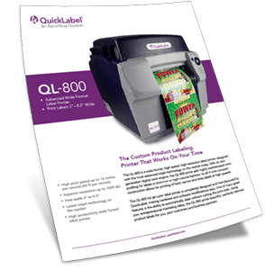 QL-800 folleto